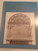 Sotheby's Auction Catalog / Important English Furniture / November 1985 - $19.80