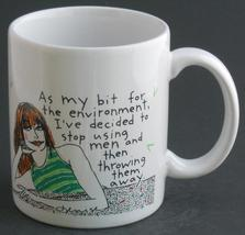 As My Bit For The Enviroment Stop Using Men Cup Mug / Hallmark Shoebox F... - $19.95