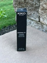 NEW IN BOX KIKO Milano Universal Fit Foundation Neutral 160 30ml Satin C... - $9.90