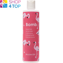 Passionista Shower Gel 300 Ml Grapefruit Mandarin Natural Bomb Cosmetics New - $11.77