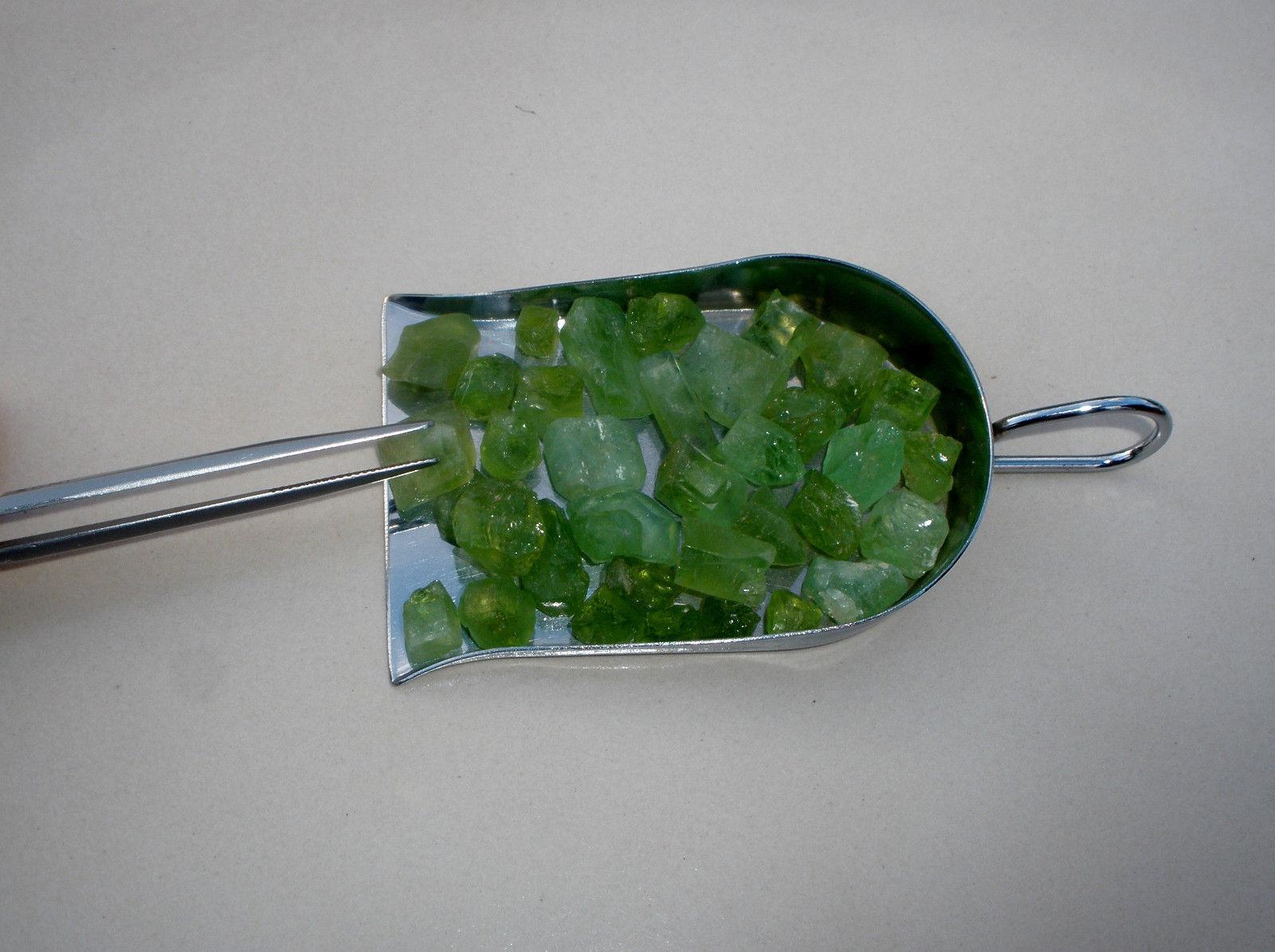 Peridot Crystal Rough Gem Parcel over 100 carats