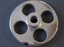 """#12 x 3/4"""" w/ HUB STAINLESS Meat Grinder Mincer plate disc screen - $17.40"""