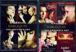 HARLEQUIN COLLECTION Volumes 1-2-3: Sexy Romantic Dramas - 12 Films - NE... - $32.99