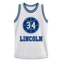 Shuttlesworth #34 Lincoln High School Ray Allen Basketball Jersey White Any Size image 4