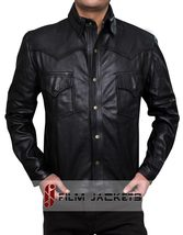 The Walking Dead Governor Real Leather Jacket  -  WITH 100% money Back g... - $179.00