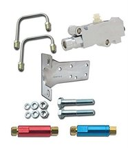 A-Team Performance Bottom Mount Chrome Disc Drum Proportioning Valve Kit, For An