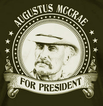 Augustus McCrae For President Cross Stitch Pattern***L@@K*** - $4.95