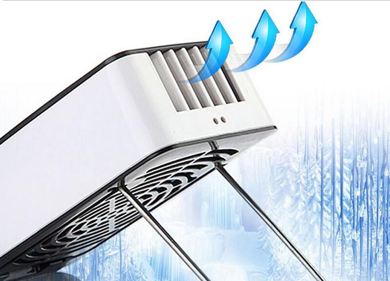 Mini Water Cooling Spray Fan Powerful Cool Mist Portable Handheld Gadget Sport