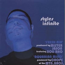 "Styles Infinite (of Mountain Brothers): Fresh Air/ Aquarian Mind 12"" Blu... - £3.82 GBP"