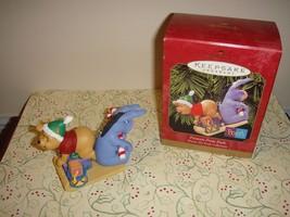 Hallmark 1999 Presents From Pooh Ornament - $10.49