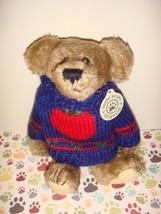 Boyds Bears Dexter Bear With Apple Sweater - $16.99
