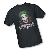 Simply Superheroes Mens batman classic 1966 tv the joker mens t shirt 2XL - $21.99