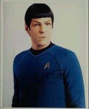 Zachary Quinto Hand Signed 8x10 Photo COA Star Trek Spock American Horro... - $64.99