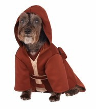 Rubies Jedi Robe Star Wars The Force Yoda Luke Pet Dog Halloween Costume... - €19,72 EUR