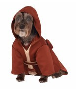 Rubies Jedi Robe Star Wars The Force Yoda Luke Pet Dog Halloween Costume... - €19,69 EUR
