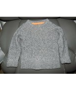 Mini Boden Light Gray Cable Knit Sweater Size 3-4Y Boy's EUC - $26.40