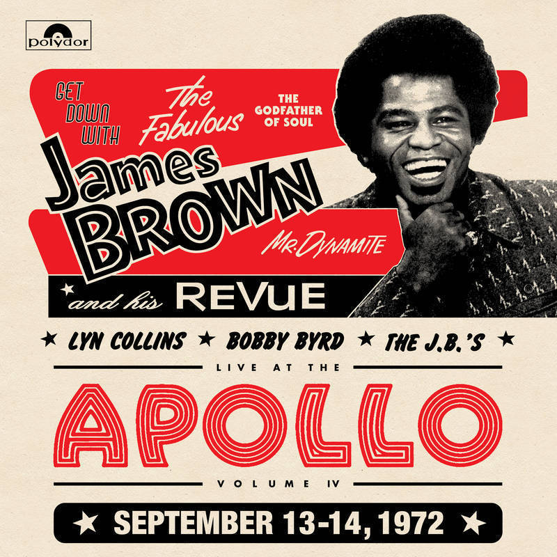 Primary image for THE JAMES BROWN REVUE Get Down At The Apollo With The J.B.'s 2 LP (RSD 2016)