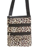 World Traveler Leopard Small Hipster Cross-Body... - $12.86