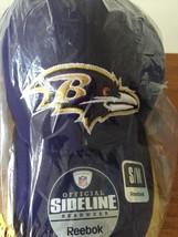 NFL l Baltimore Ravens Sideline Hat Reebok Size  S/M - $24.00