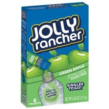 Jolly Rancher Singles To Go Green Apple Soft Dr... - $5.89