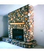 60 CONCRETE RIVER ROCK STONE MOLDS MAKE 1000s OF DIY FIREPLACE WALL VENE... - $399.98