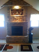 #ODL-01 Ledgestone Concrete Stone Molds (16) Make 100s of Walls Fireplace Veneer image 4