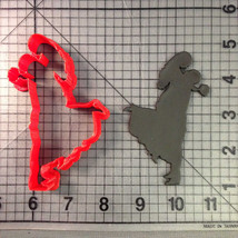 Bride & Groom Silhouette Cookie Cutter - $5.00+