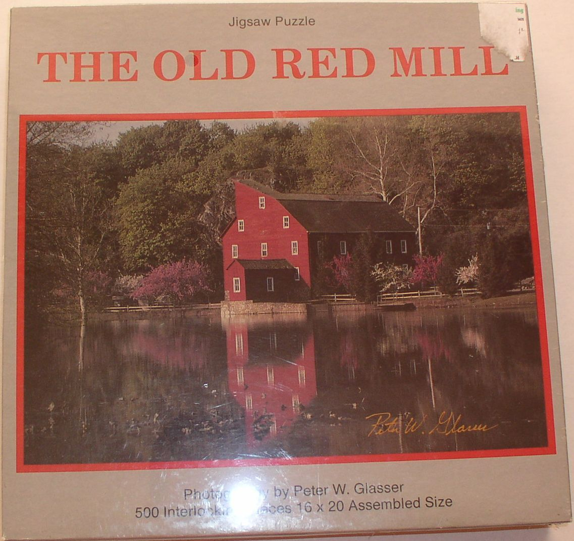 Old red mill puzzle