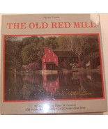 """The Old Red Mill"" 500-piece Jigsaw Puzzle by Peter W. Glasser - $49.99"