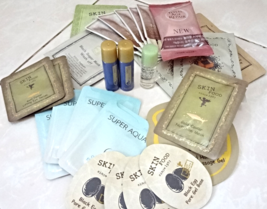 Asian Beauty Skincare Samples 20-Piece Foil Packet + Deluxe Size Sample Bag - $30.00