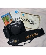 MINOLTA MAXXUM 9000 BODY w/PROGRAM BACK  - $169.99