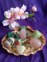 "Seashell Crystal Healing House Kit "" Positive, Uplifting Loving Energy"" - $86.00"