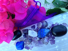 Crystal Healing Kit For Migraine, headache and Pain. - $26.00