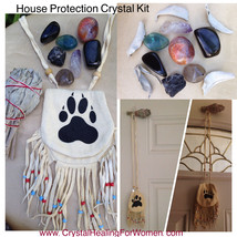 Crystal Sage Protection House Kit **To Be Placed On The Entrance Doors** - $48.00
