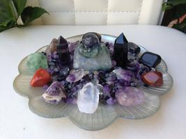 Seashell Design Protection Crystal Healing House Kit   *Breathtaking Beautiful* - $165.00