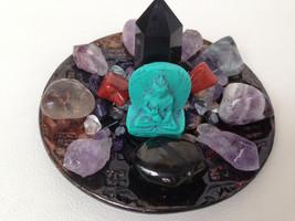 Protection Crystal Healing House Kit *Petite Design* #2 + Gorgeous Mini Turquois - $67.00