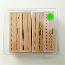 Stampin Up All In A Row Stamp Set EUC 4 Stamps - $11.34