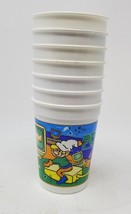 Set of 7 Ponderosa Sprinkles Kool Aid Cups vintage different scenes plastic - $7.91