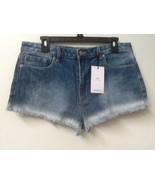 Forever 21 Denim Jean Cutoff Shorts Mid-Rise Blue Size 30 WOMENS NWT New - $14.95