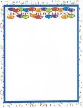 Happy Birthday Confetti Stationery Printer Paper 26 Sheets - $9.99