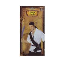 Pirate Sword Sash Caribbean Black Gold Dress Up Halloween Costume Access... - $6.79