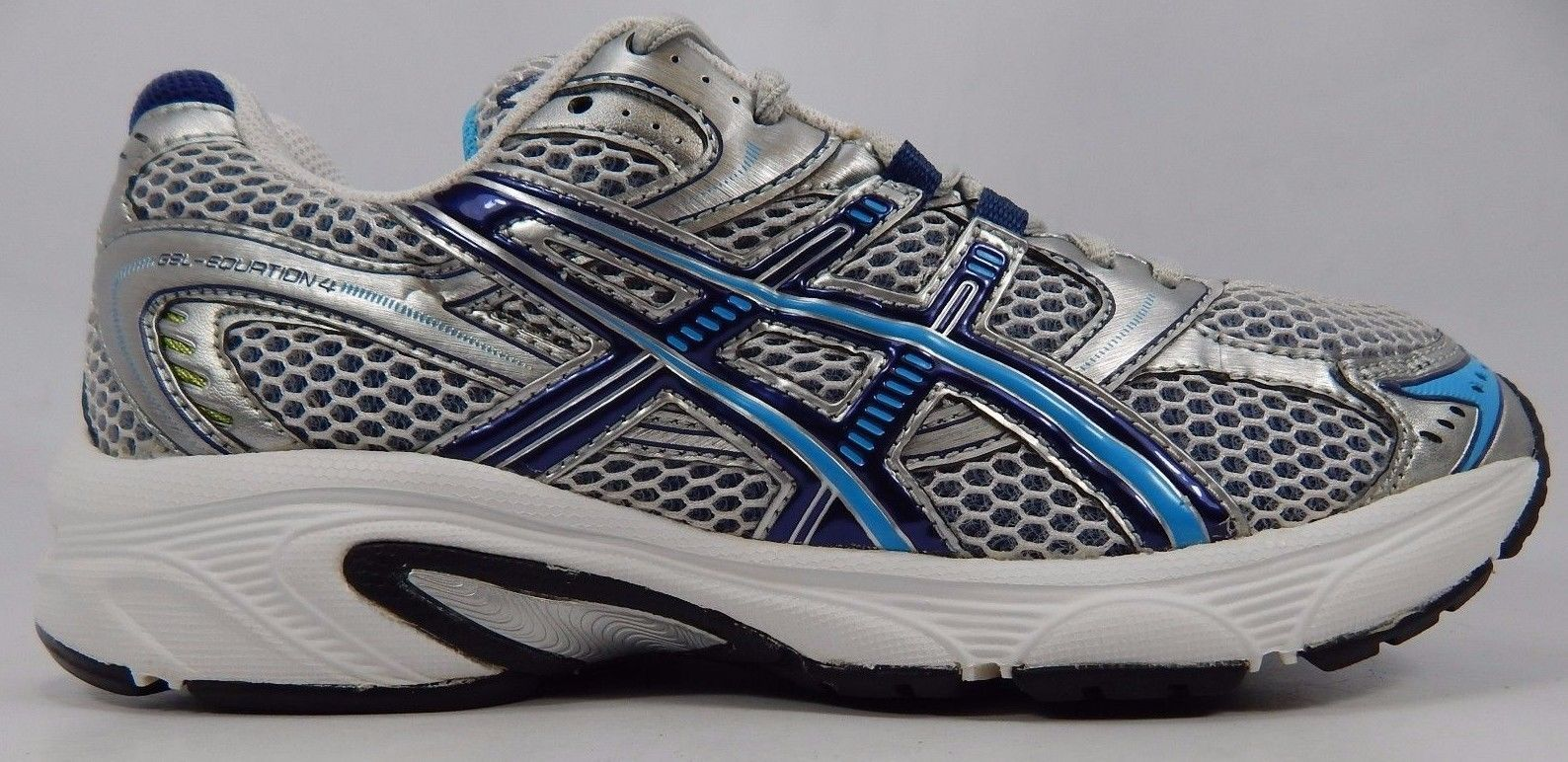 Asics Gel Equation 4 Women's Running Shoes Size US 7.5 M (B) EU 39 Silver T0F8N