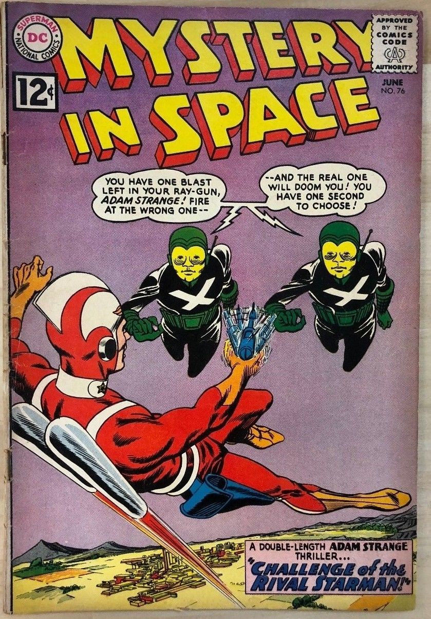 Primary image for MYSTERY IN SPACE #76 (1962) DC Comics Adam Strange VG/VG+