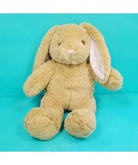 Build A Bear Plush Stuffed Animal Brown Bunny Rabbit Easter Pink Ears No... - $19.79