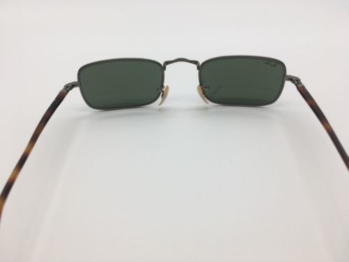76f3ee5dc0 Vintage Ray Ban NEW GATSBY Rectangle Sunglasses by Bausch   Lomb W2855.  Next. 1
