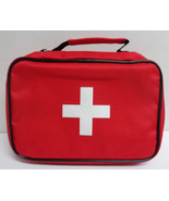 First Aid Emergency Bag NWT Red Cross Multiple Compartments Free Shipping - $7.99
