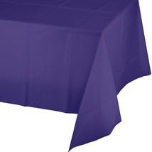 Purple Plastic Tablecover 54 x 108 - $2.84