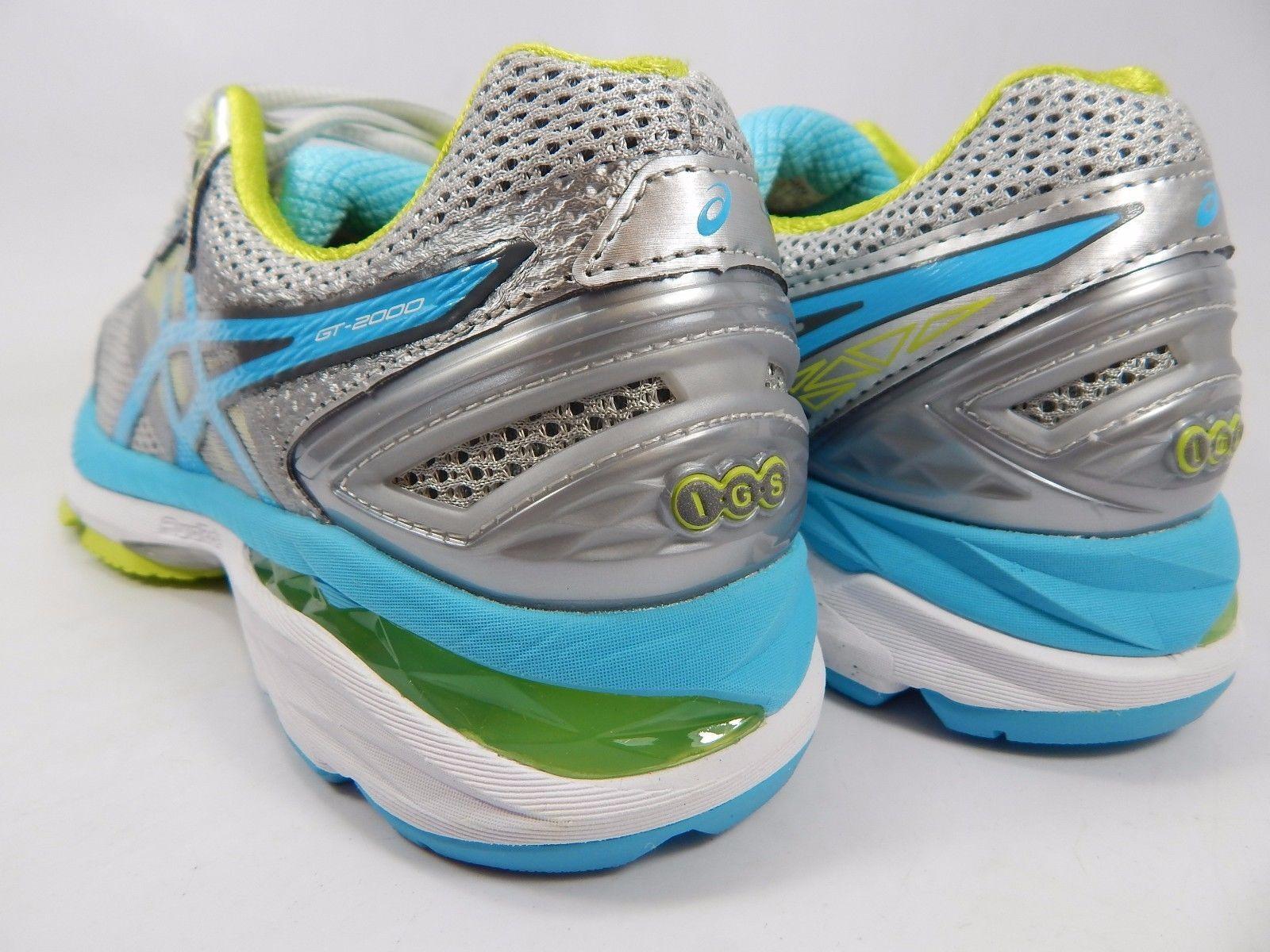 Asics GT 2000 V 4 Women's Running Shoes Size US 7.5 M (B) EU 39 Silver T656N