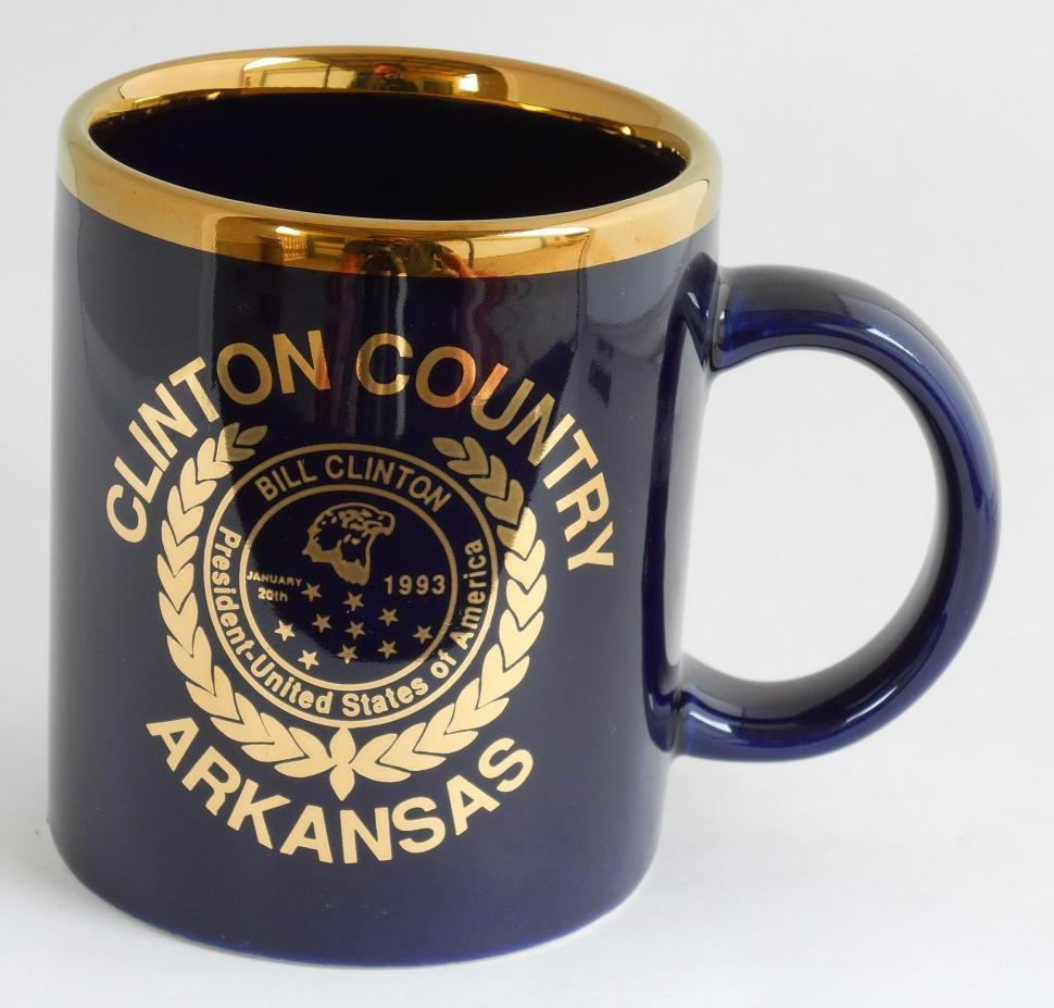Primary image for Clinton Country Arkansas Bill Clinton President United States of America Cup Mug