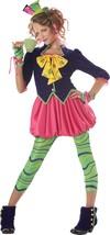 Teen/Tween Girl's Colorful Mad Hatter Costume/California Costumes™ - $26.57